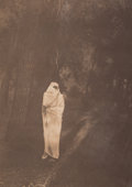 Photographs:Digital, Edward Sheriff Curtis (American, 1868-1952). Waiting in the Forest-Cheyenne, 1910. Halftone, printed later. 15-1/2 x 11 ...