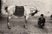 Josef Koudelka (Czech, b. 1938) Romania (Gypsy with Horse), 1968 Gelatin silver, printed later 11