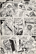 Original Comic Art:Panel Pages, Sal Buscema and Tom Palmer Ms. Marvel #10 Story Page 23 Original Art (Marvel, 1977)....