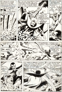 John Byrne and Bob Wiacek Marvel Team-Up #68 Story Page 13 Spider-Man Original Art (Marvel
