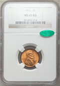 Lincoln Cents: , 1911 1C MS65 Red NGC. CAC. NGC Census: (50/35). PCGS Population:(224/150). CDN: $325 Whsle. Bid for problem-free NGC/PCGS ...
