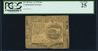 Continental Currency November 2, 1776 $4 PCGS Very Fine 25
