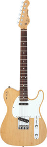 Musical Instruments:Electric Guitars, 1990 G & L ASAT Natural Solid Body Electric Guitar, Serial # G026422....
