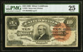 Large Size:Silver Certificates, Fr. 294 $10 1886 Silver Certificate PMG Very Fine 25.. ...