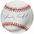 Autographs:Baseballs, Sandy Koufax Single Signed Baseball, PSA/DNA Mint 9....