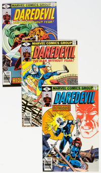 Daredevil Group of 83 (Marvel, 1979-87) Condition: Average VF/NM.... (Total: 83 Comic Books)