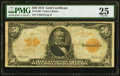 Large Size:Gold Certificates, Fr. 1199 $50 1913 Gold Certificate PMG Very Fine 25.. ...