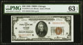Fr. 1870-G $20 1929 Federal Reserve Bank Note. PMG Choice Uncirculated 63 EPQ