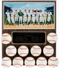 Autographs:Baseballs, 500 Home Run Club Single Signed Baseball Lot of 11.... (Total: 12 items)