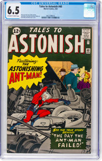Tales to Astonish #40 (Marvel, 1963) CGC FN+ 6.5 Off-white to white pages