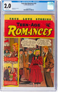Golden Age (1938-1955):Romance, Teen-Age Romances #24 (St. John, 1952) CGC GD 2.0 Brittle pages....