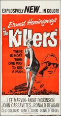 "Movie Posters:Crime, The Killers (Universal, 1964). Folded, Fine/Very Fine. Three Sheet (41"" X 78.5""). Crime.. ..."