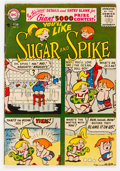 Silver Age (1956-1969):Humor, Sugar and Spike #3 (DC, 1956) Condition: FN-....