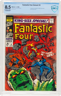 Fantastic Four Annual #6 (Marvel, 1968) CBCS VF+ 8.5 Off-white to white pages
