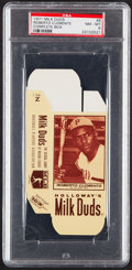 Baseball Cards:Singles (1970-Now), 1971 Milk Duds (Complete Box) Roberto Clemente PSA NM-MT 8....