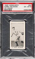 Baseball Cards:Singles (Pre-1930), 1928 Yuengling's Ice Cream Harry Heilmann #22 PSA EX-MT 6 - Pop Three, None Higher....