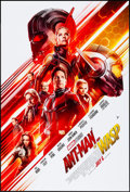 "Movie Posters:Action, Ant-Man and the Wasp (Walt Disney Studios, 2018). Rolled, Very Fine/Near Mint. One Sheet (27"" X 40"") DS Advance. Action.. ..."