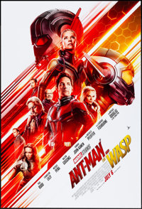 """Ant-Man and the Wasp (Walt Disney Studios, 2018). Rolled, Very Fine/Near Mint. One Sheet (27"""" X 40"""") DS Advanc..."""