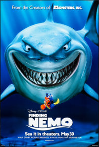"Finding Nemo (Disney, 2003). Rolled, Very Fine-. One Sheet (27"" X 40"") DS Advance. Animation"