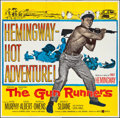 """Movie Posters:Adventure, The Gun Runners (United Artists, 1958). Folded, Fine/Very Fine. SixSheet (80"""" X 79""""). Adventure.. ..."""