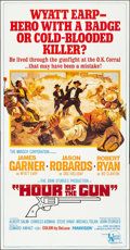 "Movie Posters:Western, Hour of the Gun (United Artists, 1967). Folded, Very Fine/NearMint. Three Sheet (41"" X 79""). Western.. ..."
