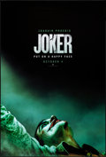 """Movie Posters:Crime, Joker (Warner Brothers, 2019). Rolled, Near Mint. One Sheet (27"""" X 40"""") DS Advance. Crime.. ..."""