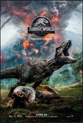 "Movie Posters:Action, Jurassic World: Fallen Kingdom (Universal, 2018). Rolled, NearMint. One Sheets (2) (27"" X 40"") DS Advance, 2 Styles. Action...(Total: 2 Items)"
