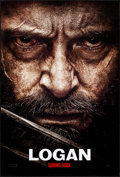 """Movie Posters:Action, Logan (20th Century Fox, 2017). Rolled, Near Mint. One Sheet (27"""" X 40"""") DS Advance, Style D. Action.. ..."""