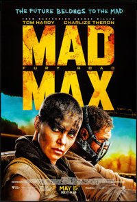 """Mad Max: Fury Road (Warner Brothers, 2015). Rolled, Near Mint. One Sheet (27"""" X 40"""") DS Advance, 3-D Style. Ac..."""