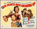"""Movie Posters:Comedy, Our Hearts Were Growing Up (Paramount, 1946). Rolled, Fine/VeryFine. Half Sheet (22"""" X 28"""") Style B. Comedy.. ..."""