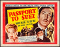 "Movie Posters:Crime, Passport to Suez & Other Lot (Columbia, 1943). Folded, Fine+. Half Sheets (3) (22"" X 28""). Crime.. ... (Total: 3 Items)"