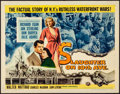 """Movie Posters:Crime, Slaughter on 10th Avenue & Other Lot (Universal International, 1957). Rolled, Fine+. Half Sheets (3) (22"""" X 28""""). Crime.. ... (Total: 3 Items)"""