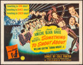 """Movie Posters:Musical, Something to Shout About (Columbia, 1943). Rolled, Fine/Very Fine. Half Sheet (22"""" X 28"""") Style A. Musical.. ..."""