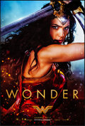 "Movie Posters:Action, Wonder Woman (Warner Brothers, 2017). Rolled, Near Mint. One Sheet(27"" X 40"") DS Teaser, Wonder Style. Action.. ....."