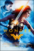 "Movie Posters:Action, Wonder Woman (Warner Brothers, 2017). Rolled, Near Mint. One Sheet(27"" X 40"") DS Advance. Action.. ..."