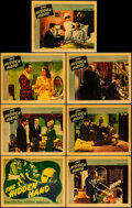 """Movie Posters:Horror, The Hidden Hand (Warner Brothers, 1942). Fine/Very Fine. TitleLobby Card & Lobby Cards (6) (11"""" X 14""""). Horror.. ... (Total:7 Items)"""