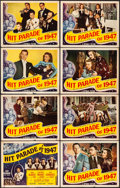 """Movie Posters:Musical, Hit Parade of 1947 (Republic, 1947). Fine/Very Fine. Title LobbyCard & Lobby Cards (7) (11"""" X 14""""). Musical.. ... (Total: 8Items)"""
