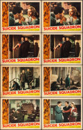 """Movie Posters:War, Suicide Squadron (Republic, 1941). Fine/Very Fine. Lobby Cards (8)(11"""" X 14""""). War.. ... (Total: 8 Items)"""