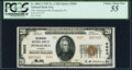 National Bank Notes:Florida, Pensacola, FL - $20 1929 Ty. 2 The American NB Ch. # 5603 PCGS Choice About New 55.. ...