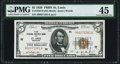Small Size:Federal Reserve Bank Notes, Fr. 1850-H $5 1929 Federal Reserve Bank Note. PMG Choice Extremely Fine 45.. ...