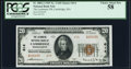National Bank Notes:Massachusetts, Cambridge, MA - $20 1929 Ty. 2 The Lechmere NB Ch. # 614 PCGS Choice About New 58.. ...