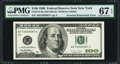 Inverted Watermark Error Fr. 2175-B $100 1996 Federal Reserve Note. PMG Superb Gem Unc 67 EPQ