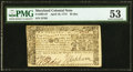 Colonial Notes:Maryland, Maryland April 10, 1774 $2 PMG About Uncirculated 53.