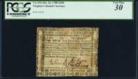 Virginia October 16, 1780 $100 PCGS Very Fine 30