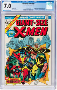 Giant-Size X-Men #1 (Marvel, 1975) CGC FN/VF 7.0 White pages