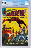 Silver Age (1956-1969):Superhero, Daredevil #14 (Marvel, 1966) CGC NM/MT 9.8 White pages....