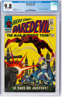 Daredevil #14 (Marvel, 1966) CGC NM/MT 9.8 White pages