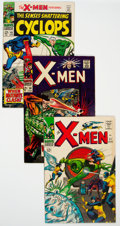 Silver Age (1956-1969):Superhero, X-Men #21, 30, and 45 Group (Marvel, 1966-68) Condition: Average VF.... (Total: 3 Comic Books)