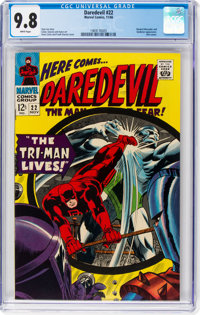 Daredevil #22 (Marvel, 1966) CGC NM/MT 9.8 White pages