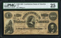 Confederate Notes:1864 Issues, T65 $100 1864 PF-3 Cr. 494 PMG Very Fine 25.. ...